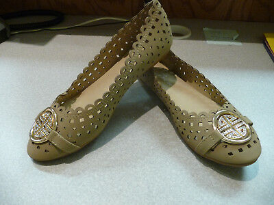 Women's Shoes -Flats - Taupe - Size 7