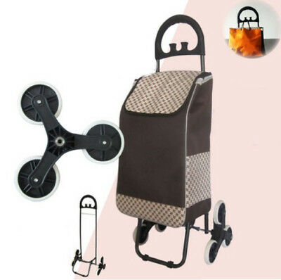 A188 Rugged Aluminium Luggage Trolley Hand Truck Folding Foldable Shopping Cart