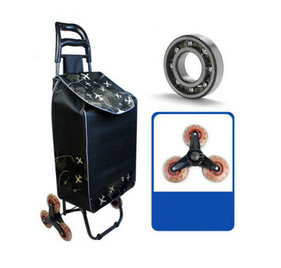 A203 Rugged Aluminium Luggage Trolley Hand Truck Folding Foldable Shopping Cart