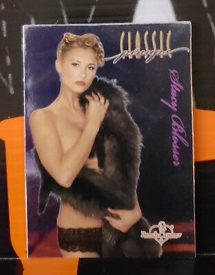 2004 BenchWarmer Series 1 Classic Pin-up Liquid FX ** STACY BLOSSER ** #5