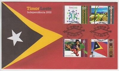 Timor – Leste 2002 Independence First Day Cover (Jd6051)