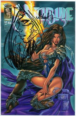 Witchblade Fan Edition Signed Michael Turner Remarked Sketch Oa Jay Coa 7/25