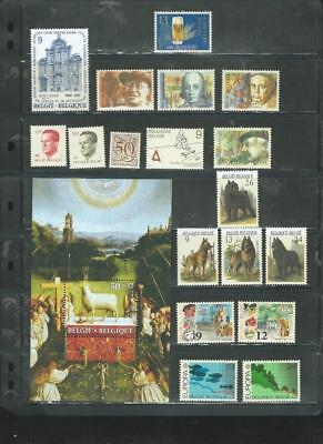 Belgium-lot 2 UHM selection good sets+MS (inc dogs) as per scan [691]