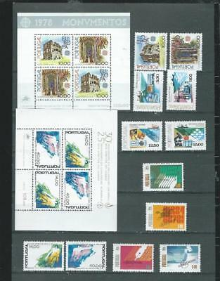 Portugal Lot 2 UHM lovely selection with sets & MS as scanned (689)