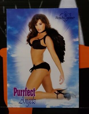 2004 BenchWarmer Series 2 Purrfect Angelz Card ** MAGGIE CASH ** # PA 10