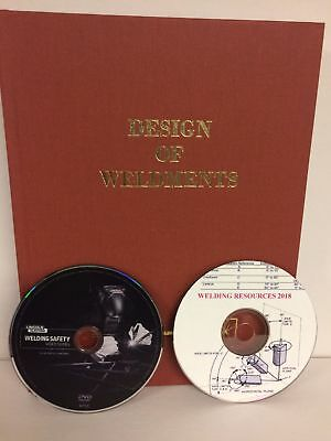 Design of Weldments Lincoln Electric Welding Resource DVDs 2018 NEW
