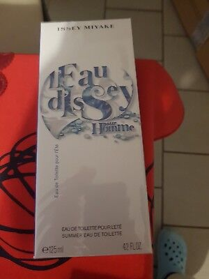 Issey miyake, l'eau d'issey pour homme / neuf