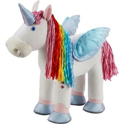 stoffpferd Horse Unicorn zauberfarben 303274 Haba For All Haba -Puppen NEW