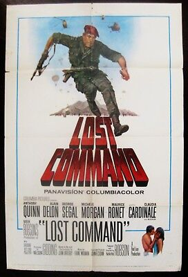 The Lost Command 1966 Anthony Quinn Original US One Sheet Poster