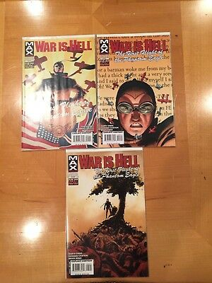 * War Is Hell:  The First Flight Of The Phantom Eagle ** #1-5 ** Ennis Chaykin *