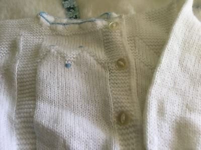 AUTHENTIC VINTAGE 1970s UNUSED BABY BOYS/GIRLS CHILDRENS CARDIGAN 3 months