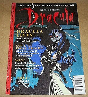 1993 Dracula Magazine - First Edition - Number 1 - Goth Gothic