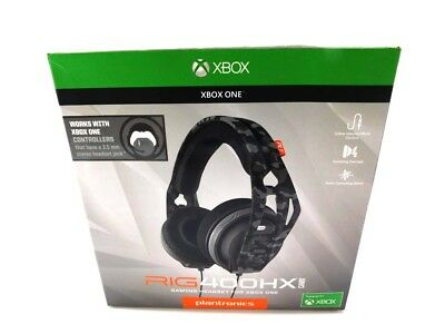 XBOX Plantronics RIG 400HX URBAN CAMO with Mic Gaming Headset for XBOX ONE