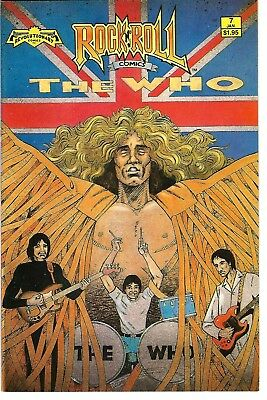 "Rock N'  Roll Comics #7 (1989) FN 2nd Printing  ""The Who""  ""Hobby"""