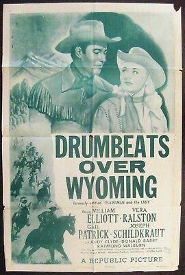 Drumbeats Over Wyoming (The Plainsman And The Lady) 1954 Wild Bill Elliott