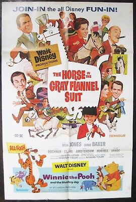 The Horse In The Gray Flannel Suit 1969 Dean Jones Diane Baker US Poster