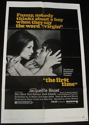 The First Time 1969 Jacqueline Bisset Original US One Sheet Poster