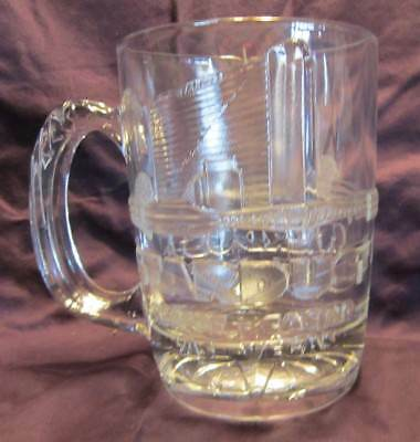 Vintage Stardust Resort Casino Las Vegas Souvenir Large Glass Beer Mug C330