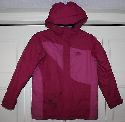 Mountain Hardwear Winter Coat Jacket Girls size Large L LG Pink