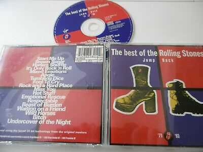 The Rolling Stones Jump Back Best Of Remastered Cd Brown Sugar Miss You Angie