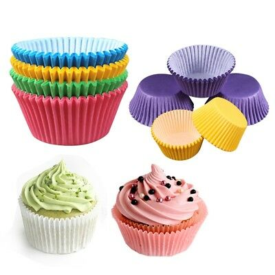 100PC Decor Cupcake Cases  Paper Cake Cup Birthday Wedding DIY Muffin Cups