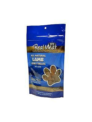 Canz Real Meat JERKY Healthy Cat Dog Reward Treats LAMB 4 oz