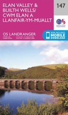 Elan Valley & Builth Wells by Ordnance Survey 9780319262450