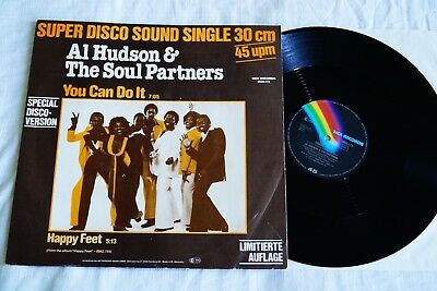 "Al Hudson & The Soul Partners ‎– You Can Do It, 12"" Maxi, GER 1979, vg+, #1"