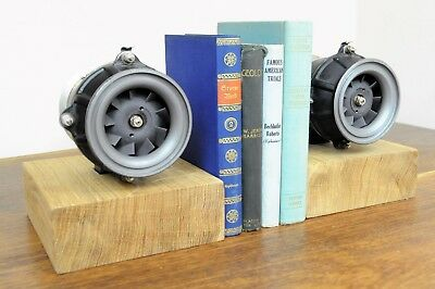 Aviator Turbine Book End electric screw turbines from a commercial aircraft