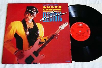 "André Cymone ‎– The Dance Electric, 12"" Maxi, NL 1985, vg++"