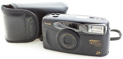 Kodak Advantix 4100ix zoom Compact Camera for APS Film - with Case + Wrist Strap