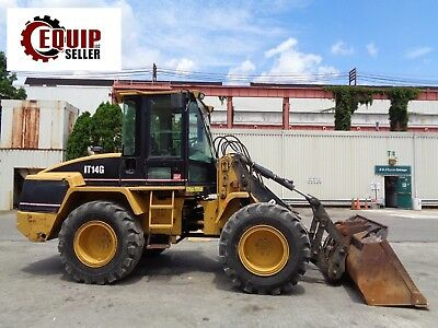 2007 Caterpillar IT14G Wheel Loader - Includes Bucket & Forks - Low Hours
