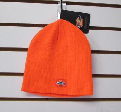 94a3136c9ea5f KNIT BEANIE HAT Orange With Ford On The front-BlackBand-One Size ...