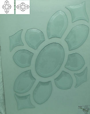 CLEARANCE! Large BEVEL CLUSTER 18 X 12.25-inch 13 Pieces GORGEOUS Sale