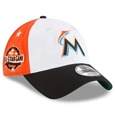 new style 194f4 eaf60 ... coupon code for miami marlins new era 2018 mlb all star game 9twenty  adjustable hat 291b9