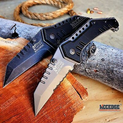 """8"""" MTECH USA XTREME BALLISTIC MILITARY RESCUE POCKET KNIFE Memorial Day Gift"""