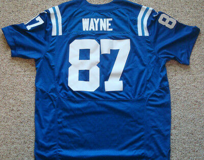 Hot INDIANAPOLIS COLTS REGGIE Wayne Nike Jersey Mens Size 52 Really  hot sale