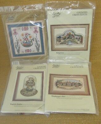 Counted Cross Stitch | (x4) Something Special Flowers & Birds Shopkeeper's Row +