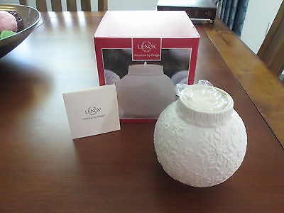 Lenox Snowflake Votive Candle Holder - New