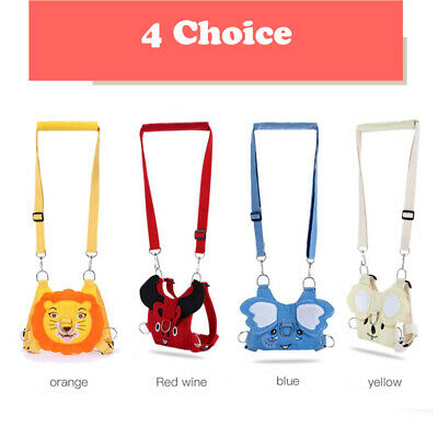 Kids Toddler Safety Anti Lost Harness Leash Walk Keeper Plush Backpack Child Toy