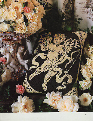 Cherub Toile de Jouy Cupid Candace Bahouth Tapestry Needlepoint Chart