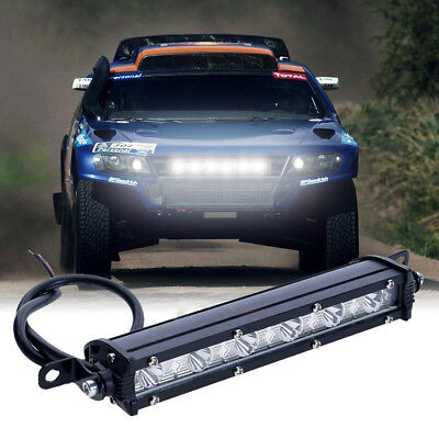 7inch 18W FLOOD Cree Led Bar Work Light Boat Car Truck Lamp SUV UTE ATV offroad