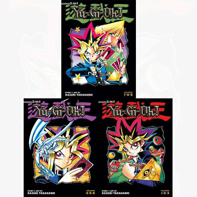 Yu Gi Oh TP Vol 1,2,3 (3 in 1 ) : 3 Books Collection Pack Set - Book 1 to 9 NEW