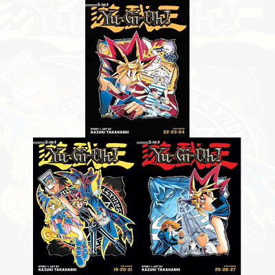 Yu Gi Oh TP Vol 7,8,9 (3 in 1 ) : 3 Books Collection Pack Set - Book 19 to 27 PB