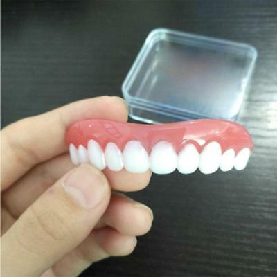 Perfect Instant Smile Comfort Fit Flex dientes Top Cosmetic Chapa Uno Tamaño FB