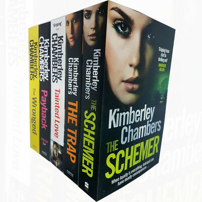 Butlers Series Kimberley Chambers 5 Books Collection Set Trap,Payback,Wronged PB