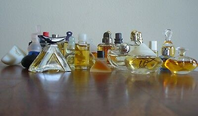 Lotto di 25 lot bundle konvolut miniature profumo mini perfume parfum mignon cam