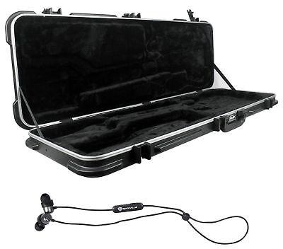 SKB 1SKB-44 Electric Bass Guitar Hard-Shell Case+Free Bluetooth EarBuds