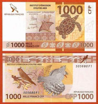P6   French Pacific Territories  1000 Francs  2014   UNC