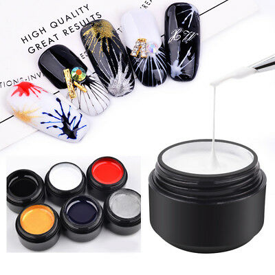 Nail Art UV Gel Drawing Elastic Line Painting Gel Varnish Silk Spider Graffiti